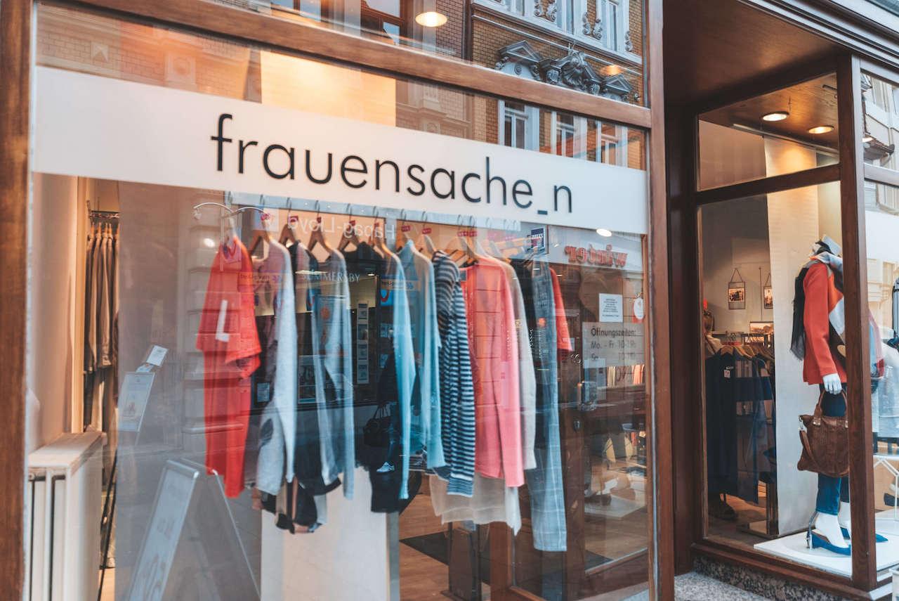 Frauensachen Damenmode Boutique Braunschweig Shopping Mode Fashion Kleidung sportlich modern6